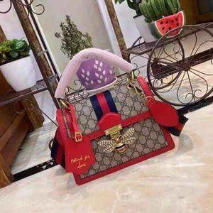 Brown GG Supreme Queen Margaret Bag